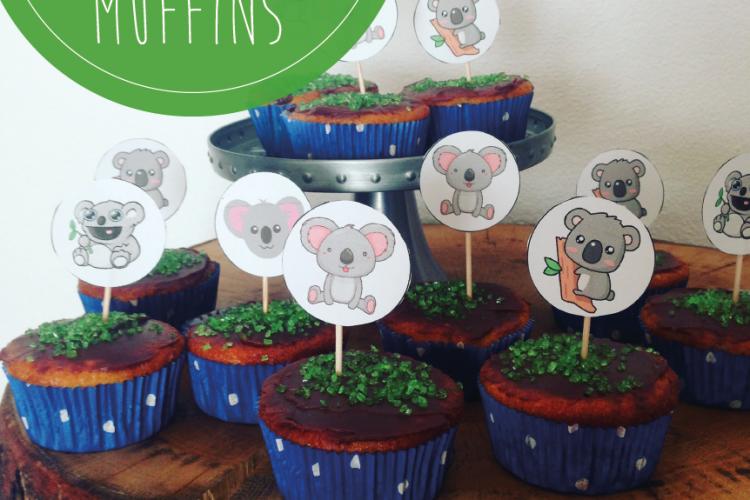 Mango Muffins, Koala Muffins