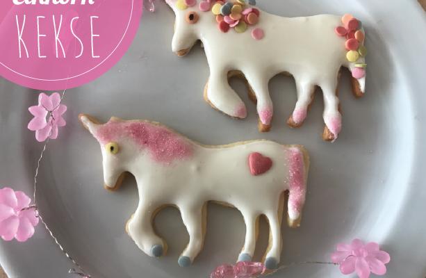 Einhorn Kekse – Backen mit Mein Keksdesign