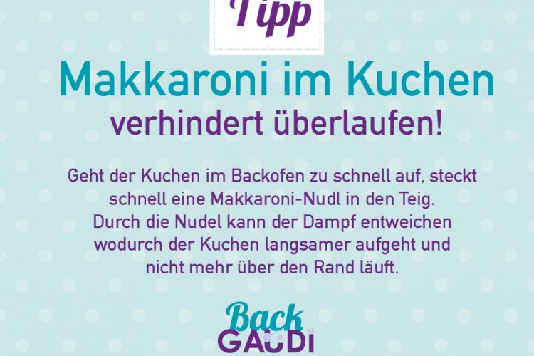 Backtipp Rührkuchen