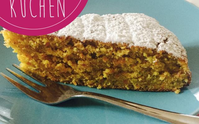 Karotten-Pistazien-Kuchen