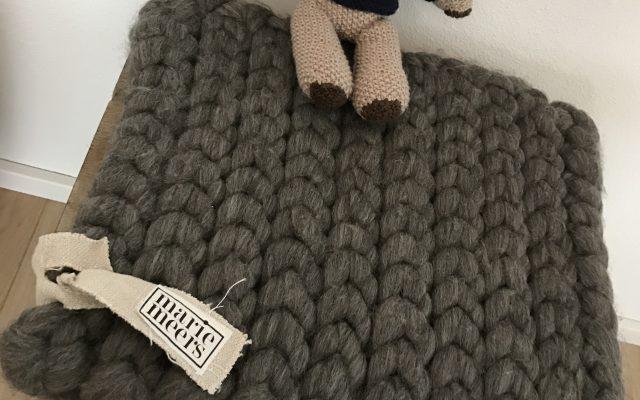 Sitzkissen aus Wolle