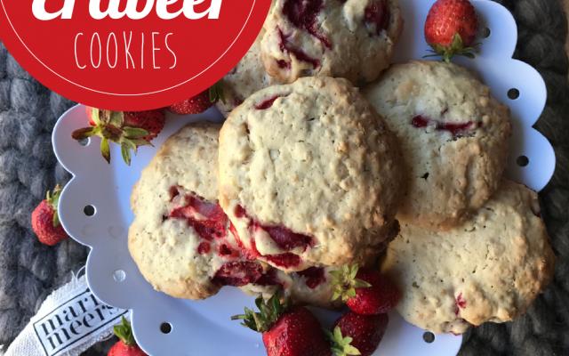 Erdbeer-Cookies