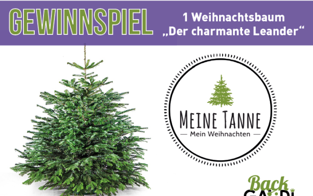 Gewinnt euren Weihnachtsbaum für 2017!!!!