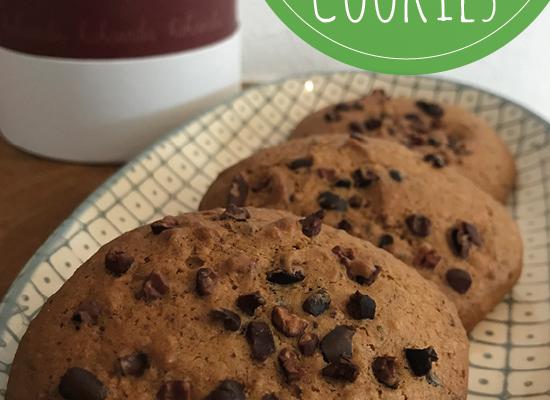 Cookies mit Kakaonibs