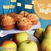 Apfel-Birnen Muffins