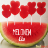 Melonen Eis-Lollies