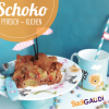 Pfirsich-Schokokuchen