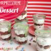 Schaumkusscreme-Dessert