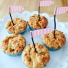 Apfelmus-Knuspermuffins