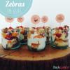 Zebras im Glas