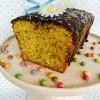 Mohn-Quarkkuchen mit Marzipan