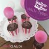 Ballon-Muffins (Nutella-Schmand-Muffins)