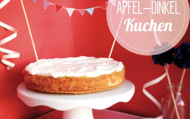 Apfel Dinkel Kuchen Backgaudi