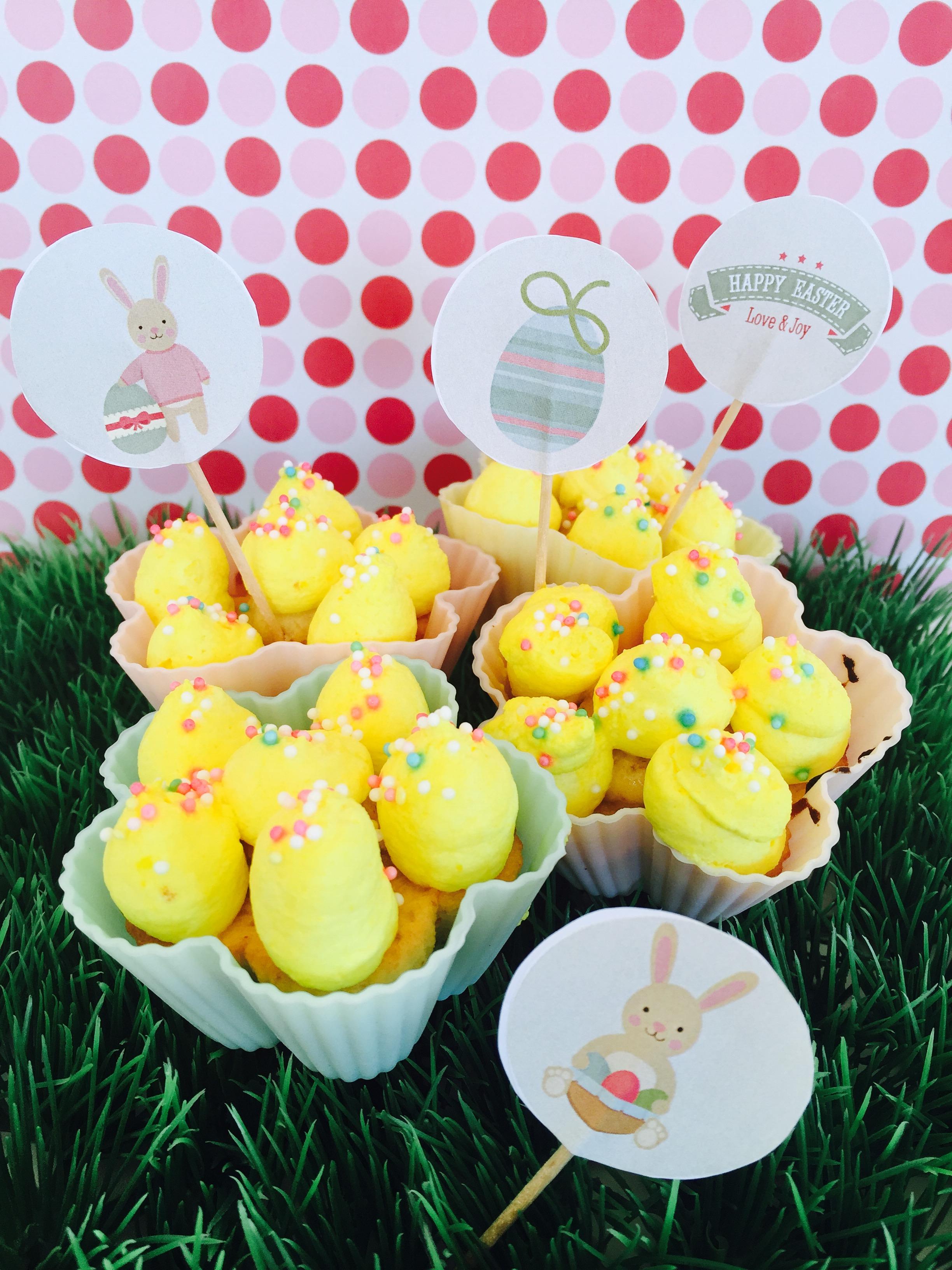 Blümchen Cupcakes 2