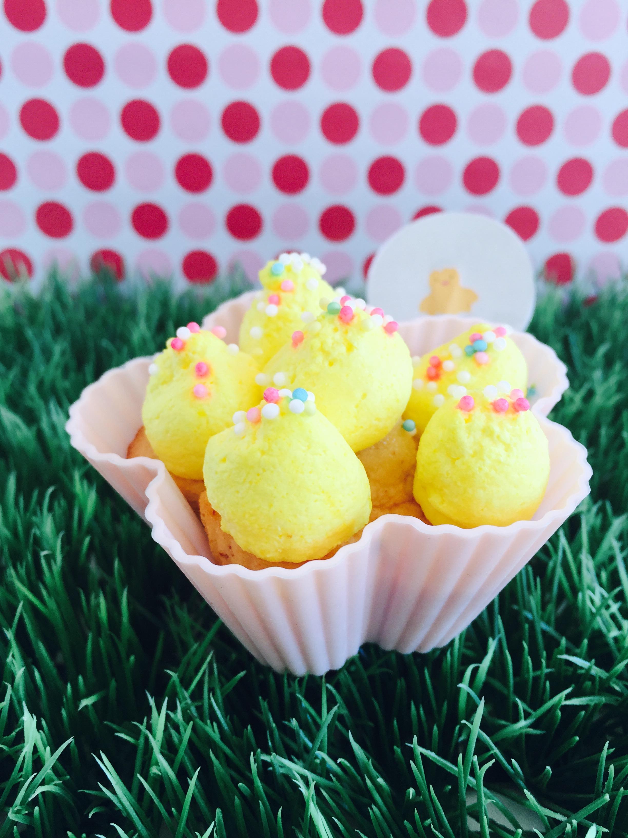 Blümchen Cupcakes