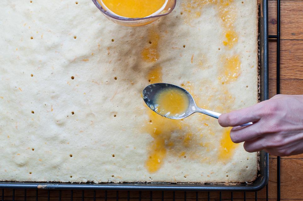 Blechkuchen mit Orange-2