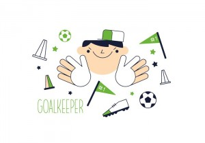 free-goal-keeper-vector